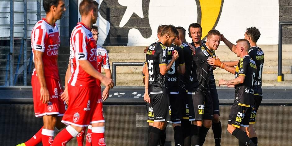 Des Mouscronnois peu inspirés et trop tardifs s'inclinent à Lokeren (2-1)