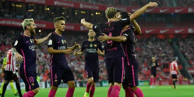 Liga: le Barça gâche mais engrange - La DH