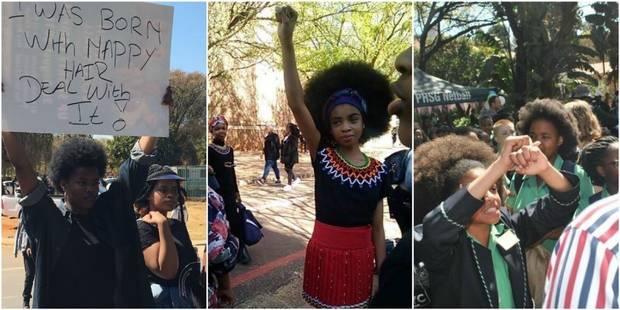 Un lycée sud-africain interdit aux filles noires de porter leurs cheveux au naturel - La DH