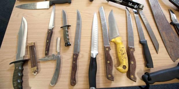 En ville avec un couteau de 32 cm - La DH