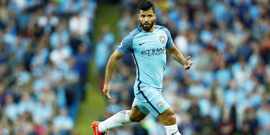 Suspendu trois matches, Agüero va rater le derby de Manchester