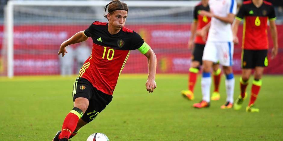 Les Espoirs belges s'imposent en fin de match contre le leader tchèque (2-1)
