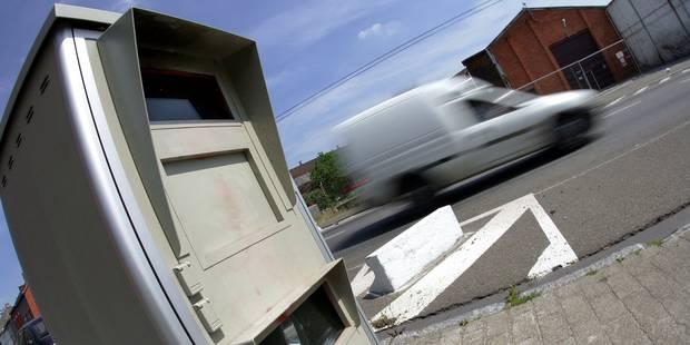 La Région wallonne va prêter des radars mobiles aux zones de police locale - La DH