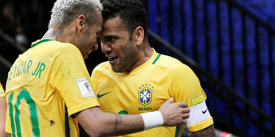 Sans Messi, l'Argentine cale, avec Neymar, le Brésil gagne