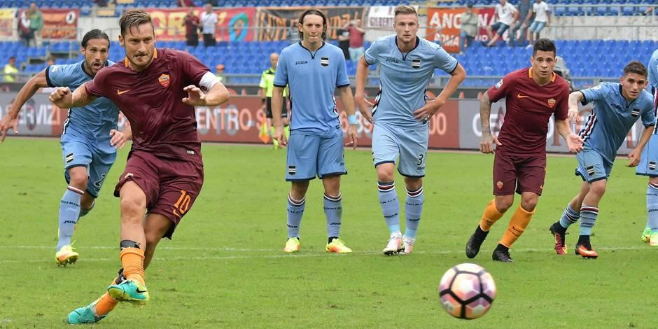 Série A : Totti réchauffe la Roma et Icardi lance l'Inter