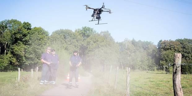 Le drone au secours des disparus à Crisnée - La DH