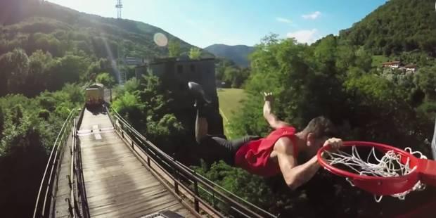 Ils réalisent des dunks sur un train - La DH