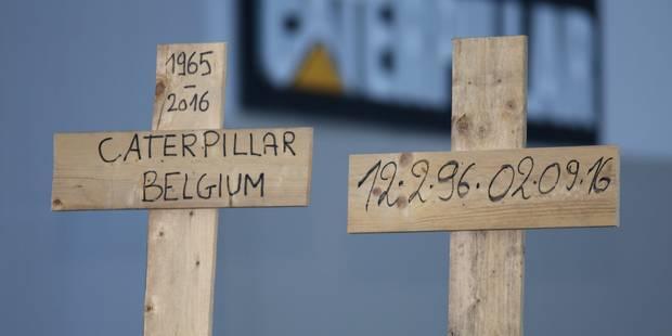 Caterpillar: La production pourrait reprendre jeudi sur le site de Gosselies - La DH