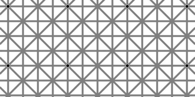 Parviendrez-vous à voir tous les points d'intersection de cette grille? - La DH