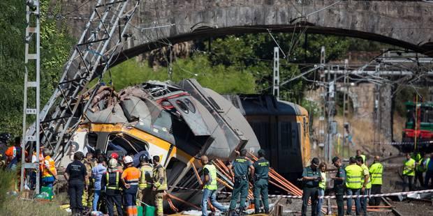 Espagne: le train qui a déraillé allait à 118km/h au lieu de 30 - La DH