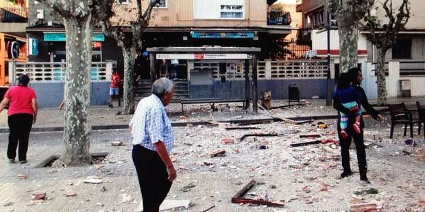 Explosion dans un immeuble près de Barcelone: un mort et 14 blessés (PHOTOS) - La DH
