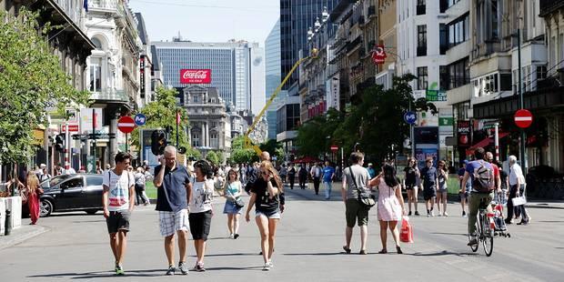 Bruxelles: le piétonnier accueillera cinq nouveaux kiosques - La DH
