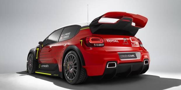 La Citroën C3 WRC se dévoile enfin