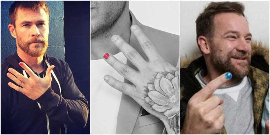 Pourquoi tous ces hommes se vernissent-ils un seul ongle ?
