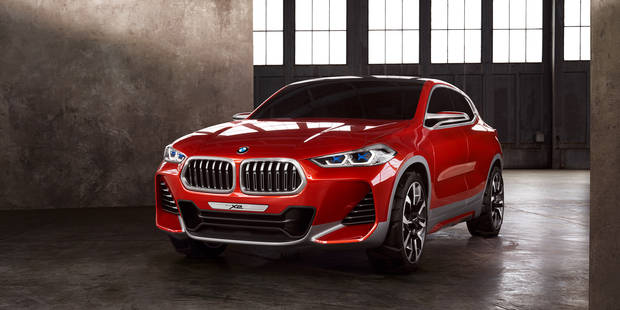 BMW dévoile son concept X2 - La DH