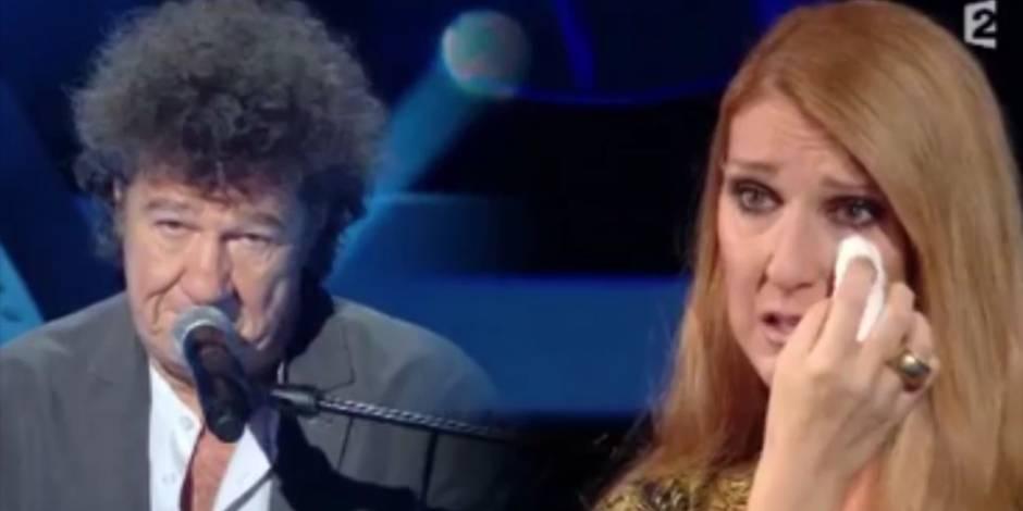 Céline Dion, émue