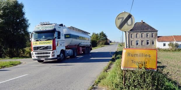 Tournai: la taxe kilométrique transfère-t-elle les camions sur les routes secondaires ? - La DH