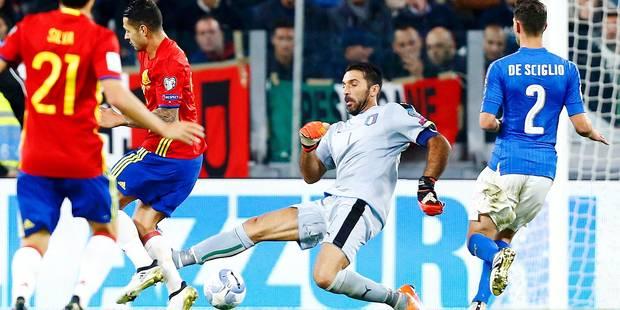 Gigi Buffon se troue complètement sur le but espagnol (VIDEO) - La DH