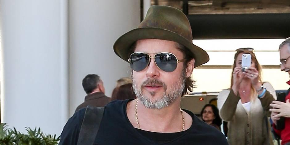 Brad Pitt a revu ses enfants