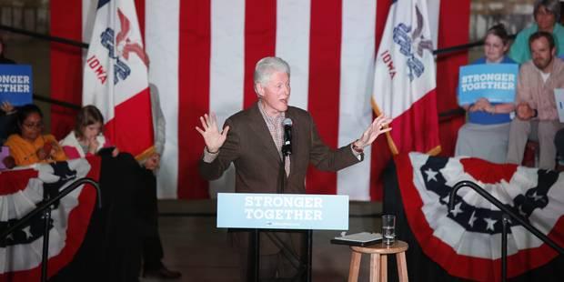 "Gagner 5.000 dollars en criant ""Bill Clinton est un violeur"" - La DH"