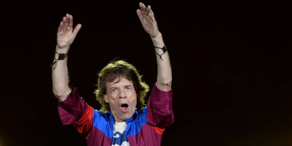 The Rolling Stones perform at Desert Trip 1 in Indio, California