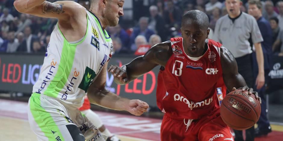 Basket 2 journée/Spirou Charleroi-Okapi Alost