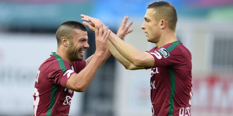 Vainqueur de Lokeren (2-0), Zulte Waregem reprend la tête du classement