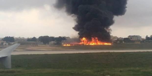 Les cinq victimes de l'accident d'avion à Malte sont françaises - La DH
