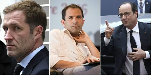 Benoît Hamon défend Paul Magnette... et taille François Hollande