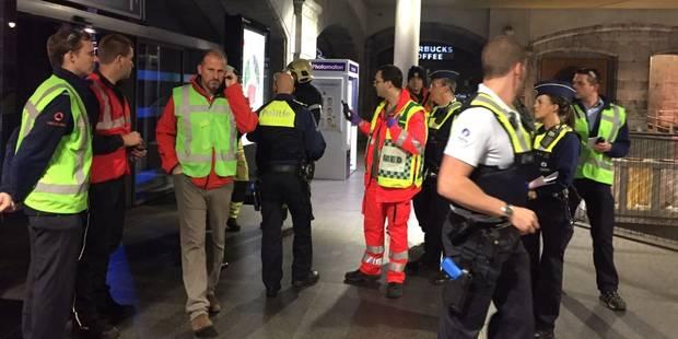 Explosion à la gare d'Anvers-Central : c'était un exercice ! - La DH