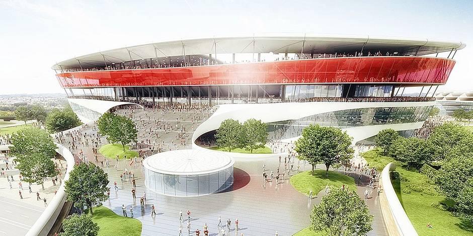 Stade national : début des travaux mi-2017 ?