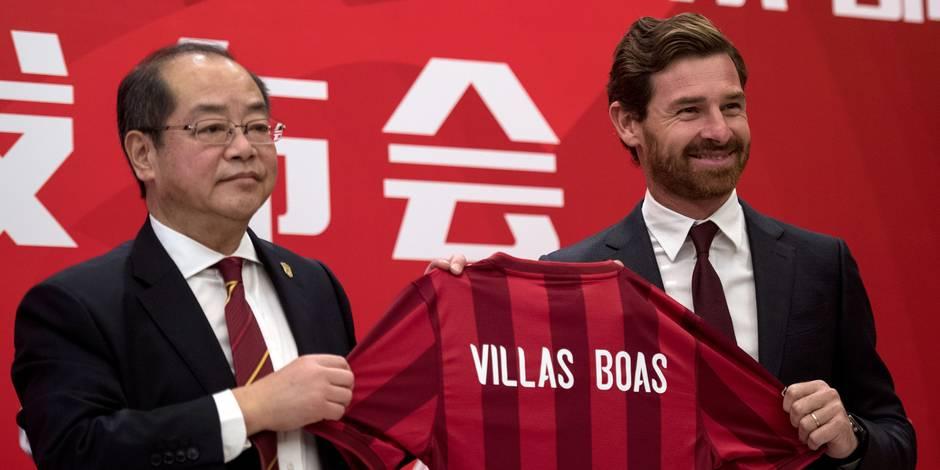 Villas-Boas a retrouvé un banc (off.) — Chine