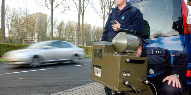 Plus de 7 millions de contrôles de vitesse en un mois à Bruxelles - La DH