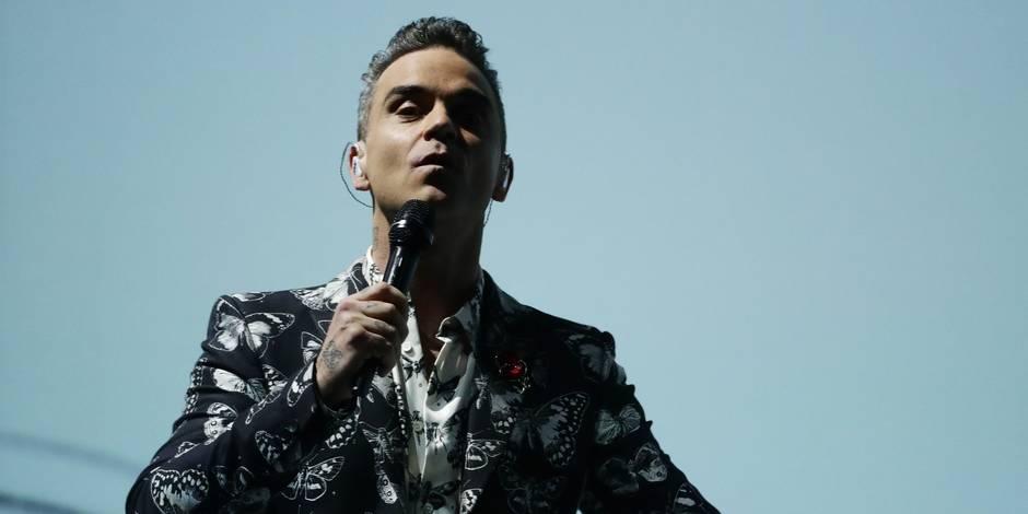 Robbie Williams tête d'affiche de Werchter Boutique