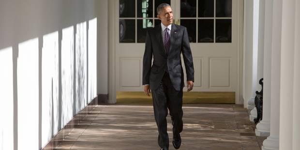 """""""Nous travaillerons au succès de Trump"""": le discours de Barack Obama - La DH"""