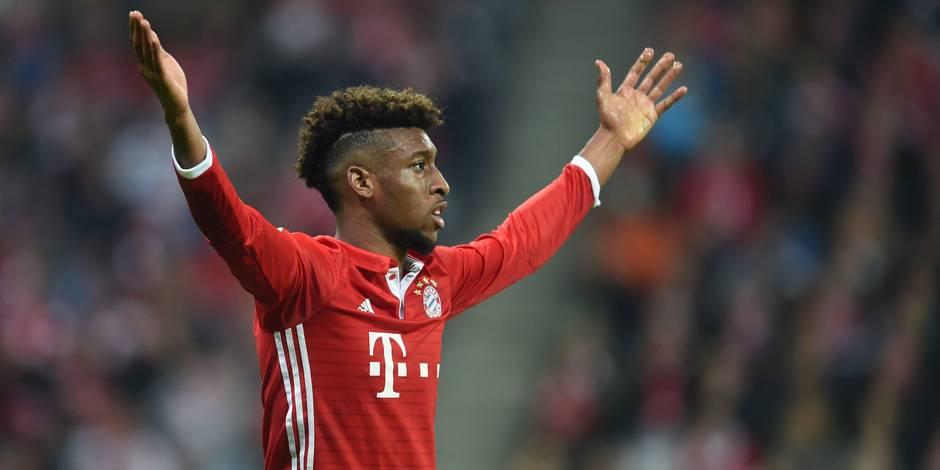 Kingsley Coman blessé, indisponible deux mois au Bayern Munich