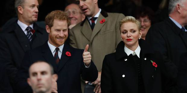 Quand Harry décroche un sourire à Charlene - La DH