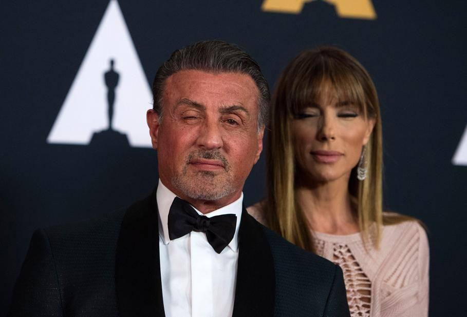 Sylvester Stallone et sa femme Jennifer Flavin