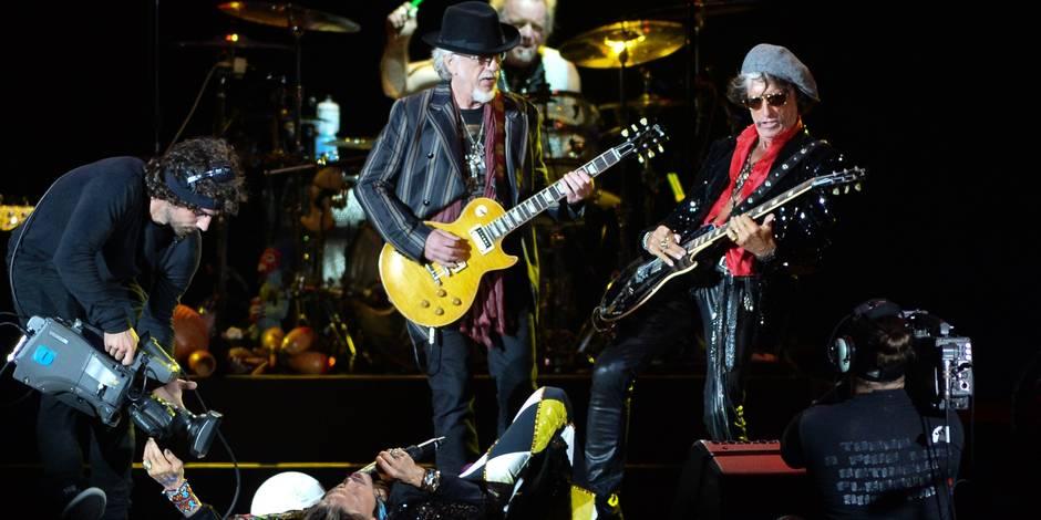 """Aerosmith annonce une tournée européenne """"d'adieux"""""""