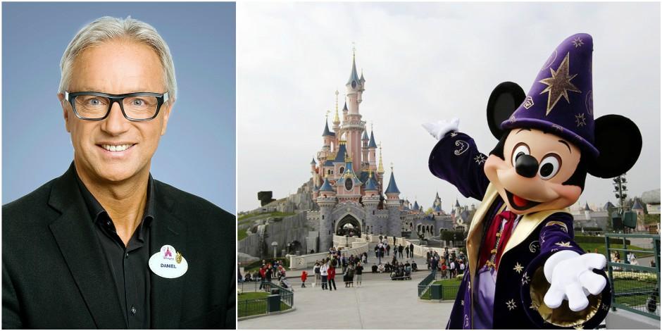 """Daniel, le Belge qui dirige Disneyland Paris: """"Au départ, moi, ici, je portais des assiettes"""""""
