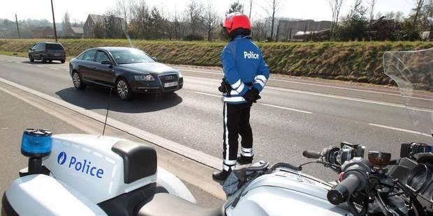 Colfontaine : ivres, ils manquent d'entrer en collision avec un véhicule de police - La DH
