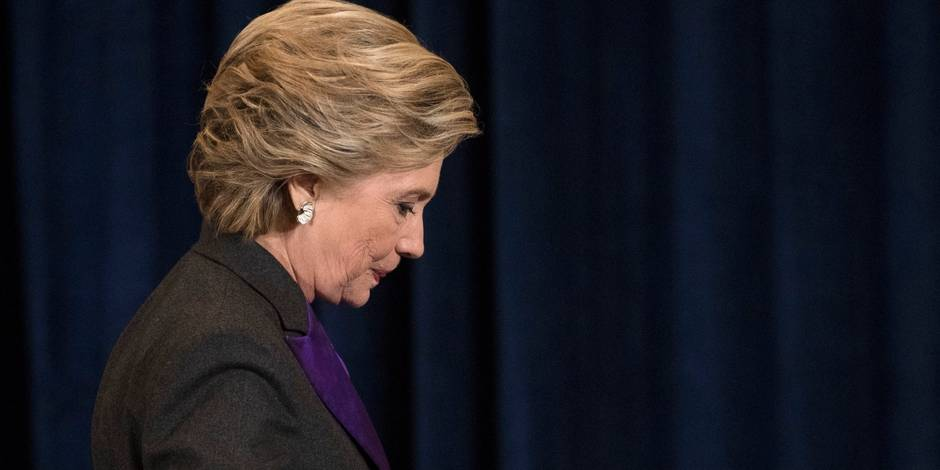 Les dix jours discrets d'Hillary Clinton depuis sa défaite