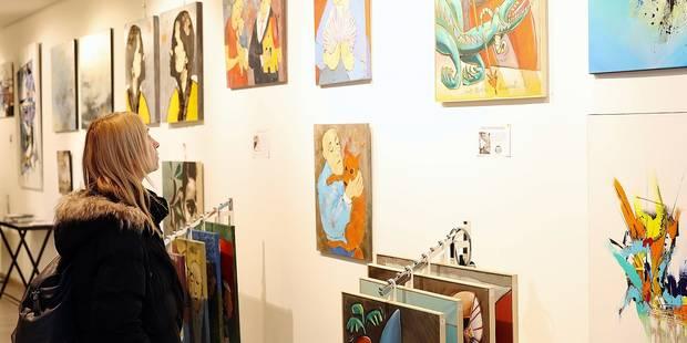 Bruxelles-Ville: une galerie d'art collaborative - La DH