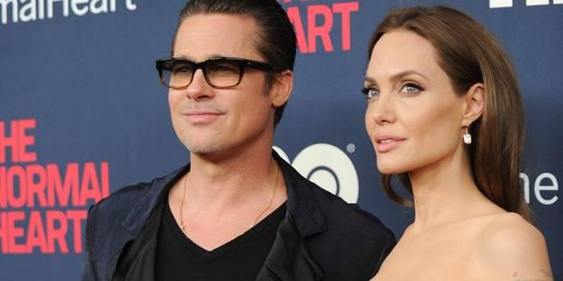"""Brad Pitt """"dévasté"""" de ne plus voir ses enfants - La DH"""