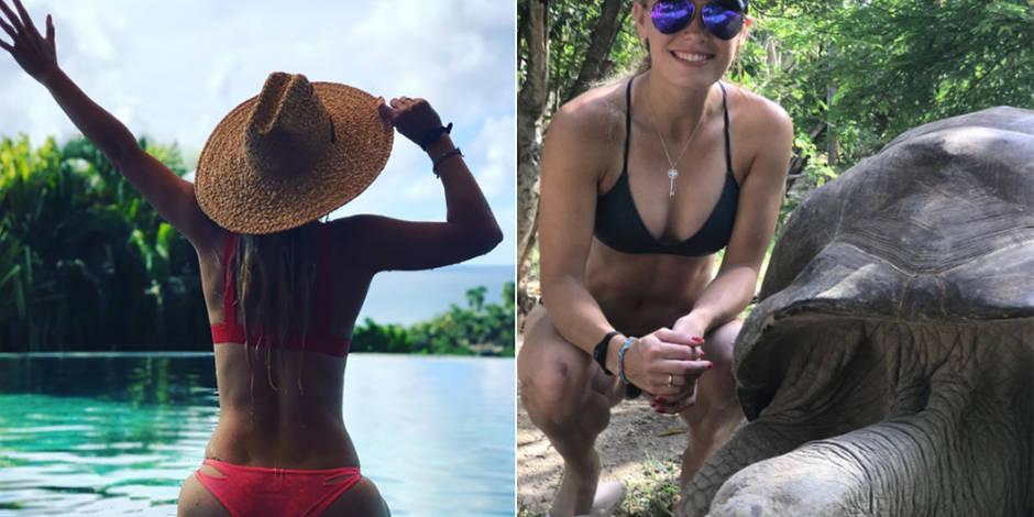 Les vacances sexy de Caroline Wozniacki (PHOTOS)