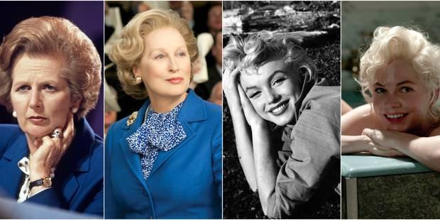 15 actrices dans la peau de femmes de légende - La DH