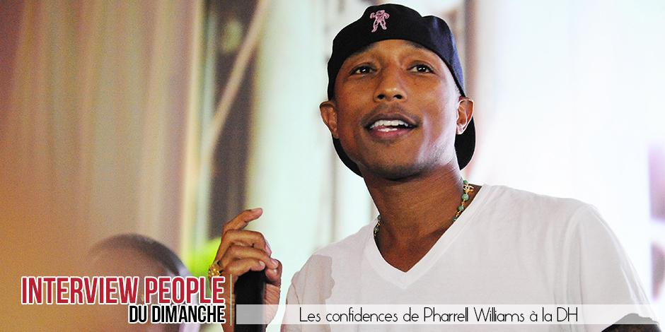 """Pharrell Williams: """"Je rêve d'un baiser de cinéma avec Beyonce!"""" - La DH"""