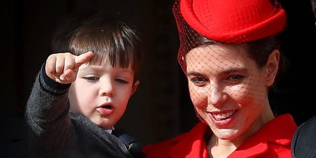 Monaco : première sortie publique pour Raphaël, le fils de Charlotte Casiraghi et Gad Elmaleh - La DH