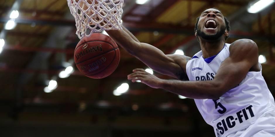 Basket /Fiba europe cup/Brussels-Benfica
