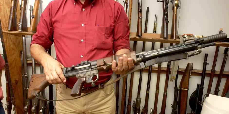 Détention d'armes à feu : + 100% en 5 ans !